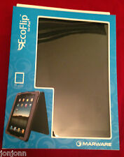 Marware Eco-flip for iPad - Black Leather. BRAND NEW. BEST PRICE ON EBAY