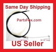 "Throttle Cable Mini ATV Pocket Bike 33cc 43cc 47cc 49cc 30"" 2-stroke Baja JCL"
