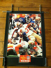 "NFL ALL PRO SAN FRANCISCO 49NERS NEW YORK GIANTS 20X 28"" HOLIDAY INN"