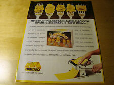 PUBBLICITA' ADVERTISING WERBUNG 1991 MULTIPAST MARCATO (G51)