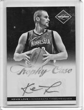 (D36) 11-12 Kevin Love Panini Limited #14 TROPHY CASE Auto #D 24/25
