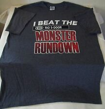 "KIA Rio--""I Beat The Monster Rundown""--T-shirt--Size Large--BRAND NEW"