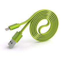 PINENG PN-302 Iphone High Speed 2A Noddle USB Charging/Data Cable (1m)-Green