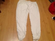 BNNT LADIES CREAM/BEIGE MATERNITY TROUSERS by RIVER ISLAND SIZE UK 14