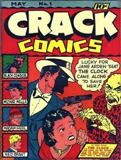 CRACK COMICS GOLDEN AGE COLLECTION PDF FORMAT ON DVD