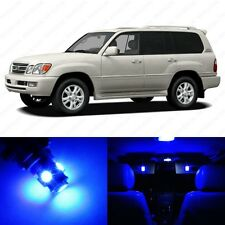 13 x Ultra Blue LED Interior Lights Package For 1999 - 2007 Lexus LX470