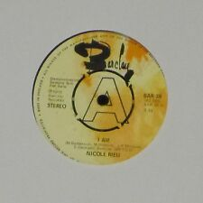 "NICOLE RIEU 'I AM b/w LET IT BE' UK 7"" SINGLE DEMONSTRATION COPY"