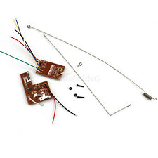 2PC 4CH RC remote control 27MHz circuit PCB transmitter&receiver board for toy