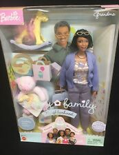 Grandma Happy Family African American Barbie Doll Grandmother NRFB Box MINT