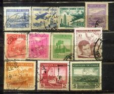 Chile small Used Stamps Lot  2