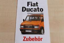 160133) Fiat Ducato - Zubehör - Prospekt 11/1991