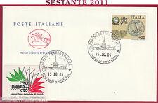 ITALIA FDC CAVALLINO RATIFICA ACCORDO CONCORDATO DI GIUGNO 1985 TORINO Y915