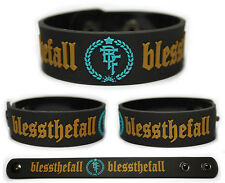 BLESSTHEFALL Rubber Bracelet Wristband  Hollow Bodies Awakening Witness