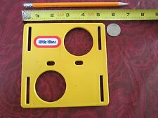 Little Tikes Dollhouse Doll Size Pretend Playground Activity Cube Piece Yellow