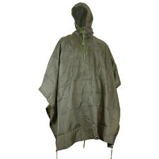 Mil-Com Waterproof Army Ripstop Nylon Poncho Fishing Bivi Camping Festival Olive