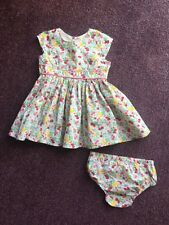 Baby Girl Next 2 Piece Summer Party Dress & Nappy Cover Pants 0-3 Months