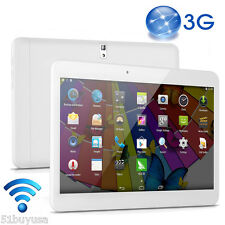 "10.1"" Tablet PC Android 4.4 1+8GB Dual SIM Camera 3G Phablet Bluetooth GPS WIFI"