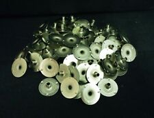100 20mm x 6mm Candle Wick Tabs Sustainer Base 20mm With 6mm Safety Neck.