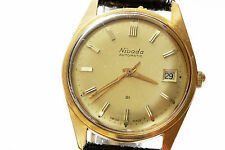 NIVADA 21 Jewels Mechanical Automatic Gold Filled Luxury Watch