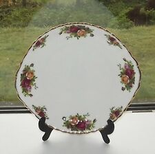 Royal Albert Old Country Roses Fine Bone China England Cake Plate 25cm 1962
