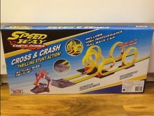 Speedway Kinetec Power - Cross&Crash Thrilling Stunt Action, Brand New, Unopened