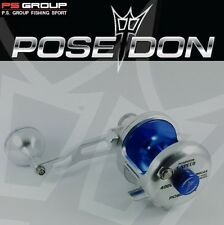 POSEIDON DUAL DRAG  ONE SPEED LIGHT JIGGING REEL 400L LEFTHANDED