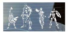 Marvel, Avengers, IronMan, Hulk, Thor, Captain America,Car Window Sticker Bundle