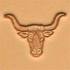 8438 Longhorn Craftool 3-D Stamp Tandy Leather 88438-00