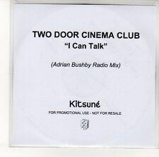 (EN358) Two Door Cinema Club, I Can Talk - 2010 DJ CD