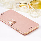 Flip Leder Slim Case Cover Handy Tasche Schutz Hülle Etui fur iPhone 6 6s Plus
