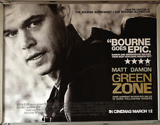 Cinema Poster: GREEN ZONE 2010 (Quad) Matt Damon