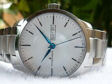 PROMETHEUS Signatura Automatic 50 meters Day Date white dial Swiss Made