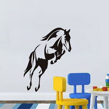 Running Horse Vinyl Wall Decal Living Room Animal Home Decor Removable Sticker