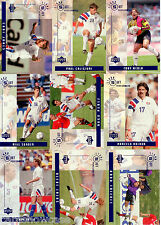 1994 Upper Deck World Cup Soccer Standout Performers card Set (10)