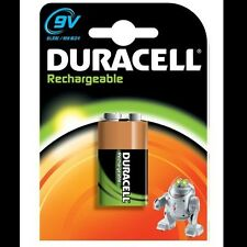 4XDuracell Rechargeable 9V (6HR61 / MN1604) NiMh Battery (170mAh)