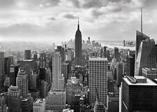 GIANT Wall mural New York City wallpapers 368x254cm Black & White Cityscape ART