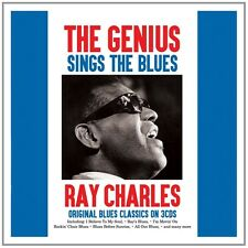 RAY CHARLES - THE GENIUS SINGS THE BLUES 3 CD NEU