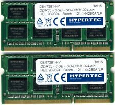 SODIMM Hypertec 2x 8gb DDR3 PC3L-12800 1600Mhz 10600 SO-DIMM LAPTOP RAM 16GB KIT