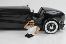 Cool Driver Fahrer George Figur  Figuren Figurines 1:18 American Diorama no car