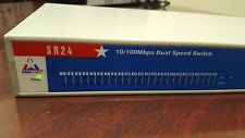 GREAT DEAL! AMER.COM SR24 10/100MBPS DUAL SPEED SWITCH - USED