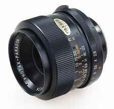 Photax Paragon 35mm f2.8 wide angle manuel focus premier objectif-M42 vis mont.