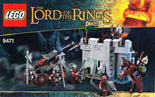 LEGO 9471 NEW Instruction Book for Uruk-Hai Army - Lord of the Rings Manual