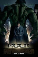 THE INCREDIBLE HULK MOVIE POSTER 2 SIDED