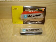 Faller N - 272821 - 40' Hi-Cube Container MAERSK - Neuware