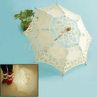 Chic Handmade Cotton Lace Parasol Umbrella Party Wedding Bridal Decoration ma0l