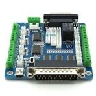 CNC 5 Axis Breakout Board interface Adapter for Stepper Motor Driver Mill pump