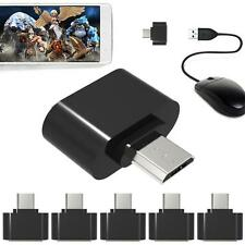 5pcs Micro USB to USB 2.0 OTG Expansion Adapter For Cell Phone Android Interface