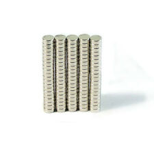 "100x Disc Neodymium magnets N42 4X1.5mm rare earth craft WARHAMMER 1/6"" X 1/16"""