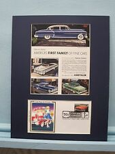 Saluting the Great Cars of the 1950's - The Chrysler 300C & First day Cover