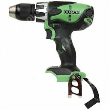 "New Hitachi DV14DSL 14.4V Li-Ion 1/2"" Hammer Drill Driver uses BSL1415 BSL1430"
